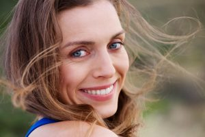 healthy Smile with dental bridges